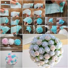 How To Make A Beautiful Flower With Paper Making Paper Flower Balls Zlatan Fontanacountryinn Com