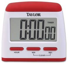 taylor easy on timer clock