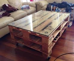 how to make a coffee table out of pallets wooden pallet coffee table how to make a coffee table from wooden pallets