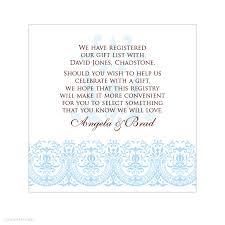 best wedding registry card wording pictures styles ideas 2018 baby shower gift registry invitation wording