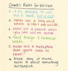 best george orwell ideas by george orwell george orwell s rules for writers