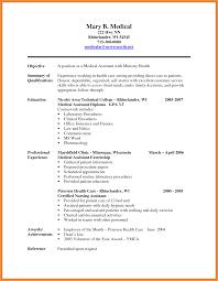 Medical Scribe Resume Resume Name