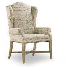 wood frame accent chairs. Accent Chairs Simple Wood Dining Arm Modern Style Frame Material 4 Legs Cream Upholstery C