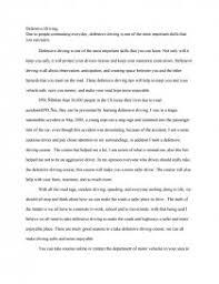 denfensive driving essays zoom zoom zoom