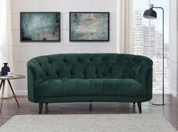 seattle love seat green sofa