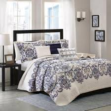 Buy Blue California King Quilts from Bed Bath & Beyond & Madison Park Cali 6-Piece Quilted King/California King Coverlet Set Adamdwight.com