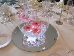 Fish Bowl Decorations For Weddings Fish Bowl Table Decorations Ideas Wedding Decor 29