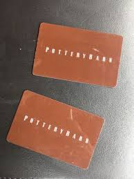 pottery barn gift cards 2 25 50 in gift cards