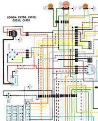 nos honda cb350 cl350 cb250 cl250 color wiring diagram ebay honda cb 250 rs wiring diagram nos honda cb350 cl350 cb250 cl250 color wiring