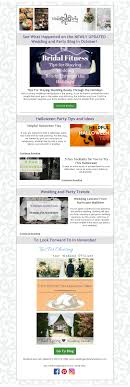 october newsletter ideas newsletters celebration advisor wedding and party network blog