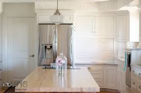 milk paint for kitchen cabinetsCustom Kitchen Cabinets Painted with Milk Paint