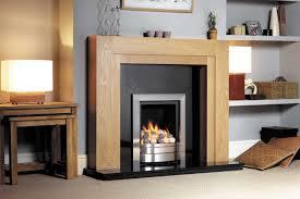 modern wooden fire surrounds round designs