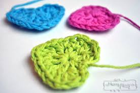 Crochet Heart Pattern Free Gorgeous Simple Crochet Heart Free Crochet Pattern My Merry Messy Life