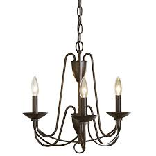 allen roth wintonburg 18 03 in 3 light aged bronze williamsburg candle chandelier