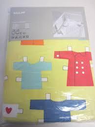 ikea nallar crib bedding blanket sheet paper doll bear new clearance