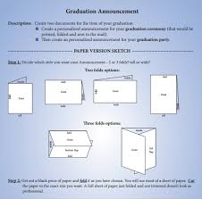 Make Your Own Graduation Announcements Sample Graduation Announcement Template 8 Free Documents In Pdf Word