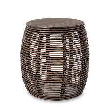 rattan bedside tables round wicker popular