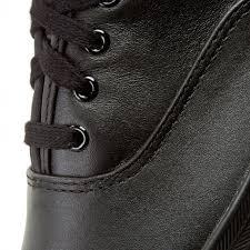 plimsolls keds champion wh45780 black leather
