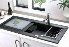 Sink With Cutting Board Stainless Steel Kitchen Sink With Sliding Cutting Board Best