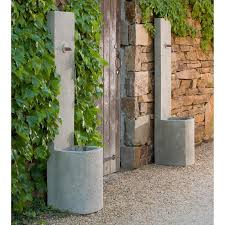 winsome inspiration outdoor wall fountains water features echo fountain soothing walls clearance modern diy