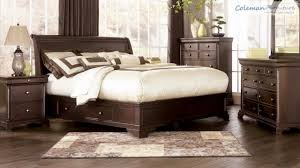 Remarkable Ashley Millennium Bedroom Set Leighton Furniture From By YouTube  ...