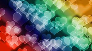 colorful heart wallpapers. Simple Wallpapers Colored Hearts HD Wallpaper   To Colorful Heart Wallpapers