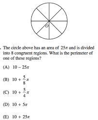 circles on sat math formulas review