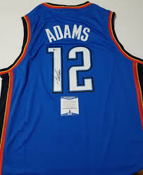Steven Adams signed jersey BAS Beckett ...