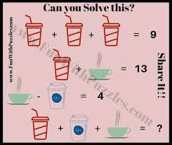 can you solve this fun maths puzzle equation