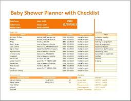Baby Shower Budget Template Prinsesa Co