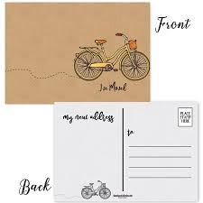 Announcement Postcards Ive Moved Postcards 50 New Address Cards 4 X 6 Moving