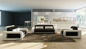contemporary white living room furniture. Modren Living Choosing Black And White Living Room Furniture With Contemporary