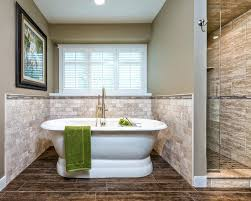 bathrooms with freestanding tubs tile around freestanding tub bathroom transitional with porcelain tile beige paint plantation