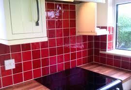 red glass tile kitchen backsplash tiles glass tile kitchen photos gallery  of installing full size of