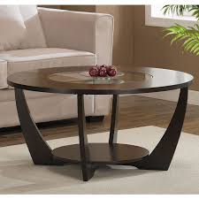 creative of round coffee table with shelf with best 25 espresso coffee table ideas only on pallet