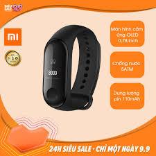 Bán Vòng đeo tay thông minh Xiaomi Mi Band 3 (Đen)
