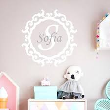 baby name wall decals personalized baby name wall stickers modern nursery wall decal wall tattoo custom baby name wall decals