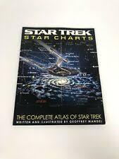 Star Trek Star Charts By Geoffrey Mandel 2002 Paperback