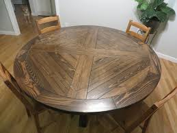 how to make round dining table trends with ana white roundbase pedestal diy projects images