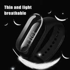 Original Xiaomi Mi Band <b>3</b> Anti-scratch <b>Ultrathin</b> Screen Protector ...