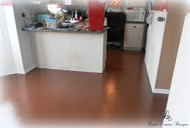 Painted Kitchen Floor Can I Paint Laminate Flooring All About Flooring Designs