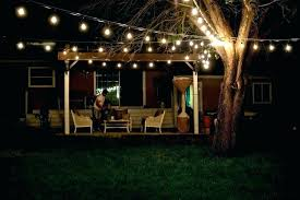 garden light ideas outdoor string lights led globe patio foot