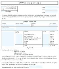 Free Pay Stub Templates Word Sample Formats Is Paystub One