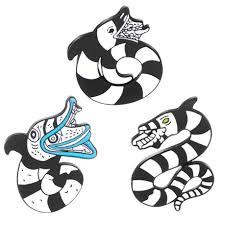 High Quality 1 pcs <b>Beetlejuice Pins Animal Brooches</b> Enamel pins ...