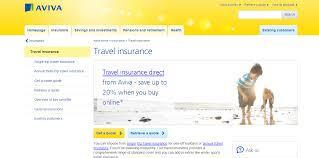 travel insurance quotes aviva travel insurance quote raipurnews