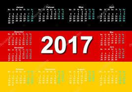 German Calenda Deutsch Language Stock Photo Lexxxx37reg