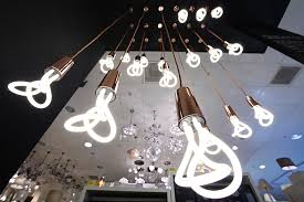 plumen display in john lewis pop up exhibition in oxford street curated by the design