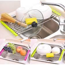 Kitchen Sink Drain Rack Stainless Steel Kitchen Sink Drain Rack Catchin24