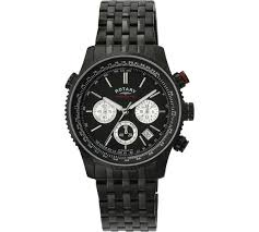 buy rotary men s black chronograph bracelet watch at argos co uk rotary men s black chronograph bracelet watch902 3569