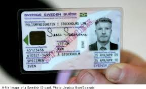 Id-card Sweden Local Threatens Fraud The - 'epidemic'